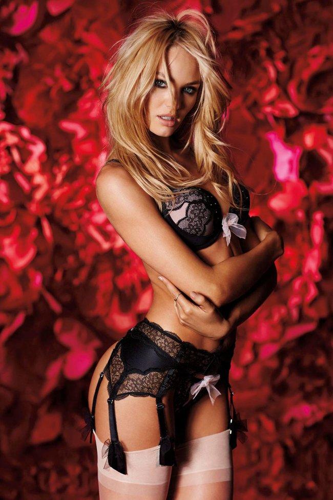 Ангелы «Victoria's Secret» для Дня Святого Валентина: Адриана Лима, Бехати Принслу и Кэндис Свейнпол
