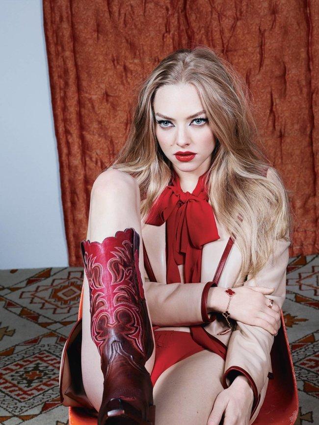 Аманда Сейфрид: фотосессия для апрельского номера «W Magazine»
