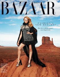 Кэндис Свейнпол в августовском номере «Harper's Bazaar»: candi-swanepoel-1_Starbeat.ru