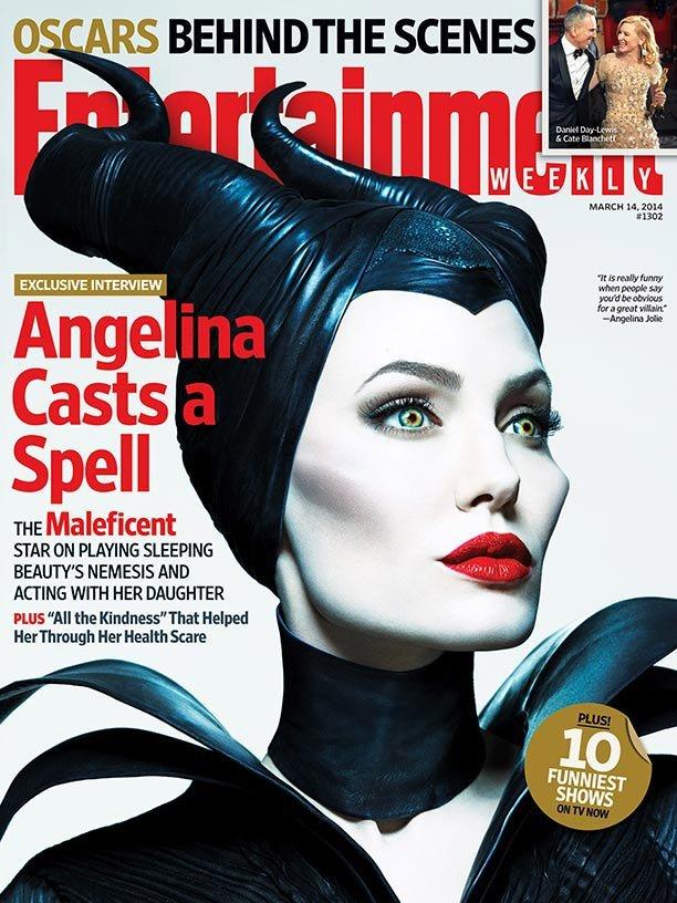 Анджелина Джоли: постеры к фильму «Малефисента»: angelina-jolie-maleficent-poster--01_Starbeat.ru
