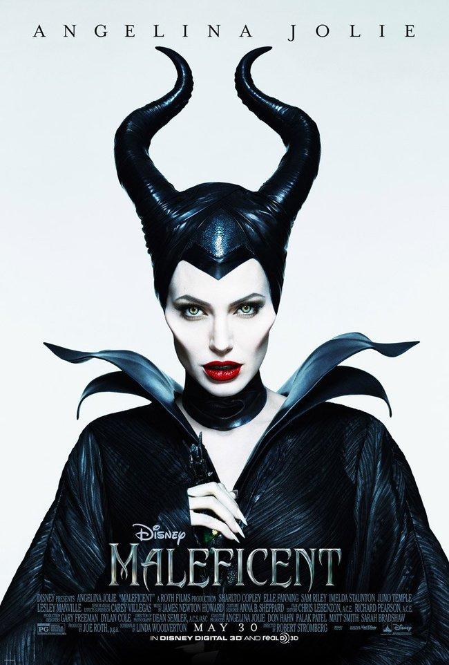 Анджелина Джоли: постеры к фильму «Малефисента»: angelina-jolie-maleficent-poster--03_Starbeat.ru