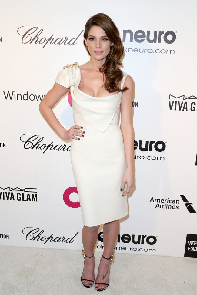 Эшли Грин на вечере Элтона Джона «AIDS Foundation Academy Awards»: ashley-greene-2014-elton-john-aids-foundation-academy-awards-party--02_Starbeat.ru