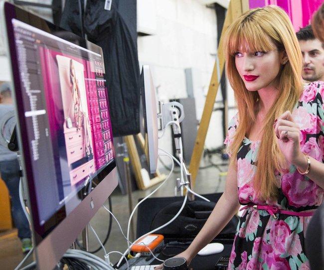 Белла Торн на рекламной съемке бренда «Candie's»: bella-thorne-121_Starbeat.ru