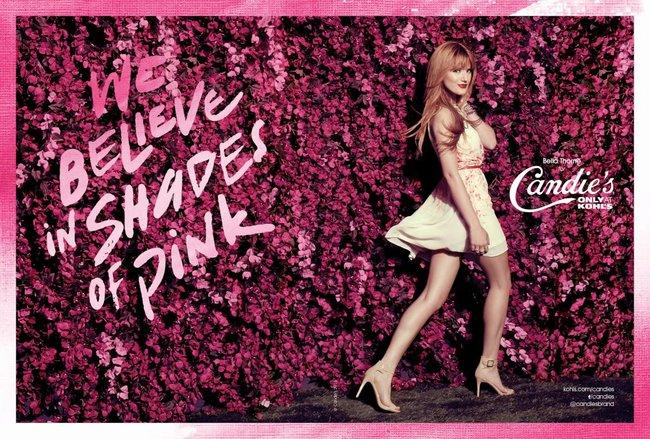 Белла Торн на рекламной съемке бренда «Candie's»: bella-thorne-14_Starbeat.ru