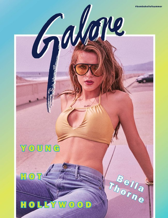 Белла Торн съездила в 80-е для журнала «Galore»: bella-thorne-14-2_Starbeat.ru