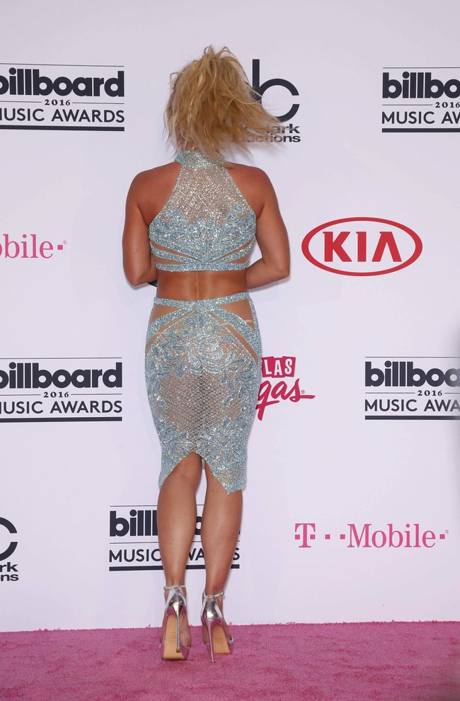 Бритни Спирс и морщины радости на «2016 Billboard Music Awards» в Лас-Вегасе: britney-spears-1_Starbeat.ru