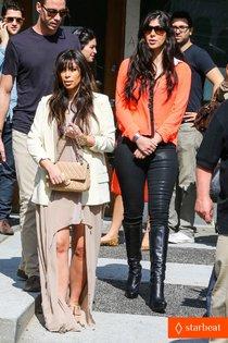 Любитель вкусно поесть: Ким Кардашьян: kim-kardashian-atlanta-landing-for-temptation-premiere-01_Starbeat.ru