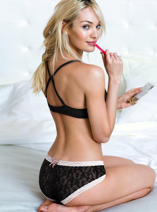 Кэндис Свейнпол снялась для рекламы «Victoria's Secret» в декабре 2013: candice-swanepoel-vs-lingerie--25_Starbeat.ru