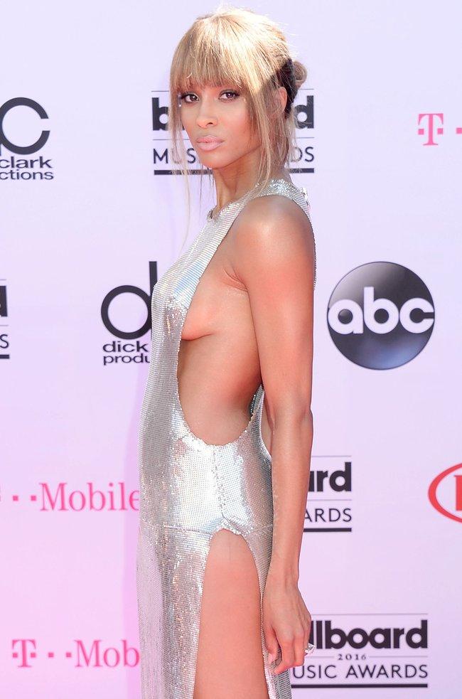 Сиара пытается выдавить улыбку, но ничего не выходит: «2016 Billboard Music Awards» в Лас-Вегасе: ciara-8_Starbeat.ru