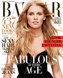 Лара Стоун в «Harper's Bazaar US», фотограф: Дэниэл Джексон (Daniel Jackson): lara-stone-bazaar-us-daniel-jackson-01_Starbeat.ru