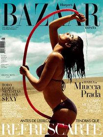 Испанский «Harper's Bazaar» за июль-август: Кристал Ренн: crystal-bazaar-1_Starbeat.ru