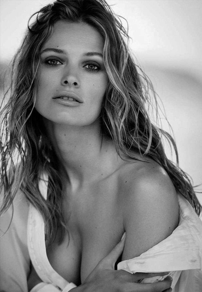 Полуобнажённая Эдита Вилкевичуте и чёрно-белые фото для «Vogue Germany» (июль 2016): edita-vilkeviciute-4_Starbeat.ru