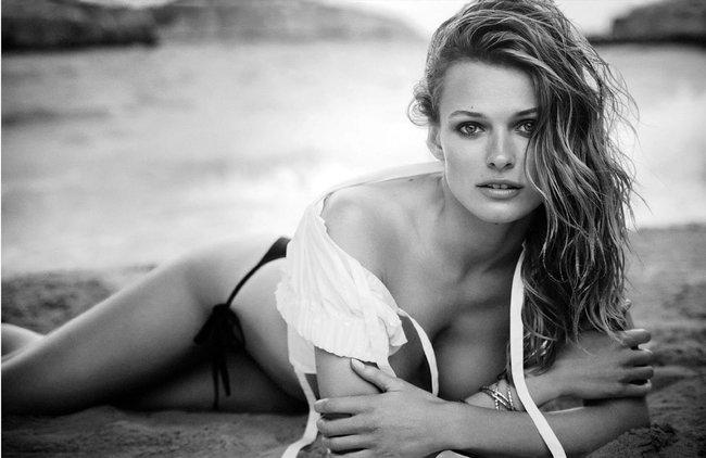 Полуобнажённая Эдита Вилкевичуте и чёрно-белые фото для «Vogue Germany» (июль 2016): edita-vilkeviciute-8_Starbeat.ru