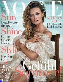 Полуобнажённая Эдита Вилкевичуте и чёрно-белые фото для «Vogue Germany» (июль 2016): edita-vilkeviciute-1_Starbeat.ru