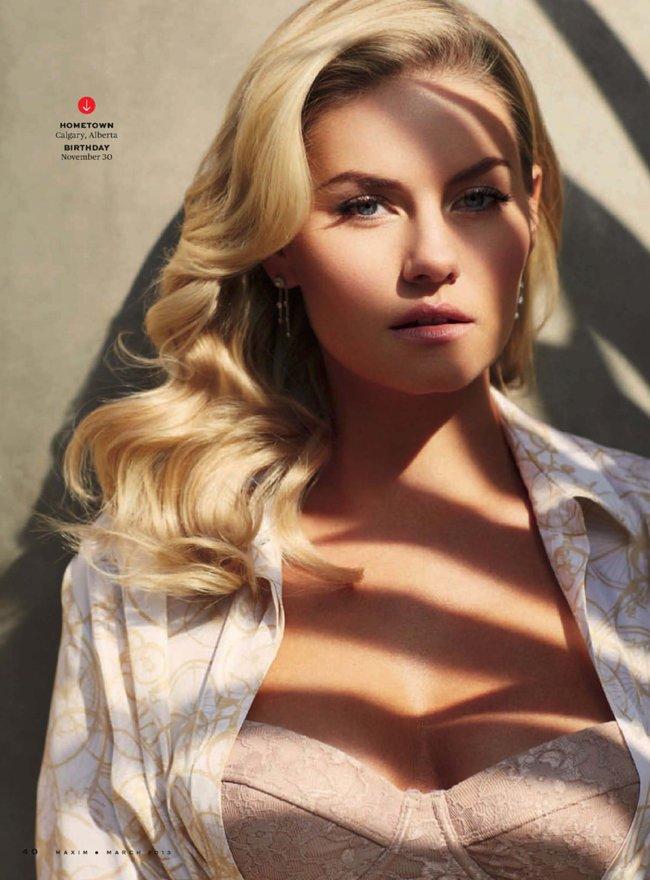Элиша Катберт на обложке журнала «Maxim», март 2013 года: Elisha-Cuthbert-4_Starbeat.ru