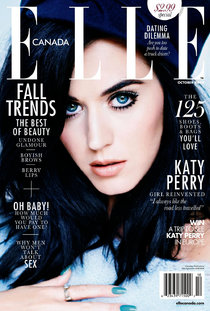 Журнал «Elle Canada» в октябре с Кэти Перри, фотограф: Мариано Виванко: katy-elle-1_Starbeat.ru