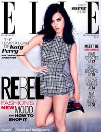 Девушка с обложки: Кэти Перри в осеннем «Elle UK»: elle-uk_Starbeat.ru