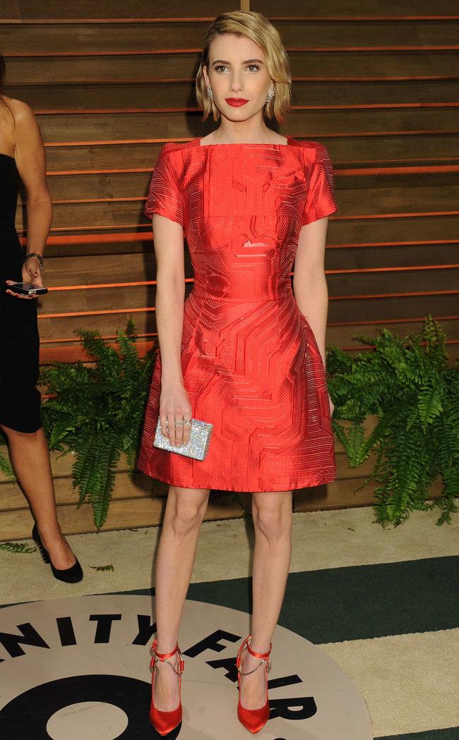 Эмма Робертс на званом вечере «Vanity Fair Party», Голливуд: emma-roberts-oscars-2014---vanity-fair-party--02_Starbeat.ru