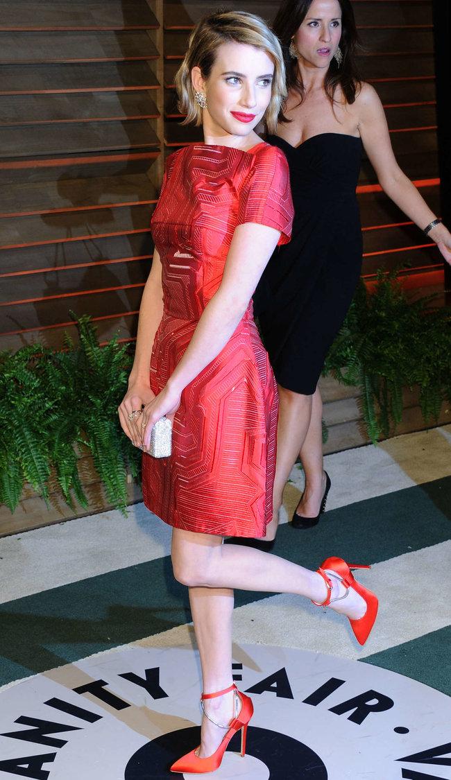 Эмма Робертс на званом вечере «Vanity Fair Party», Голливуд: emma-roberts-oscars-2014---vanity-fair-party--03_Starbeat.ru