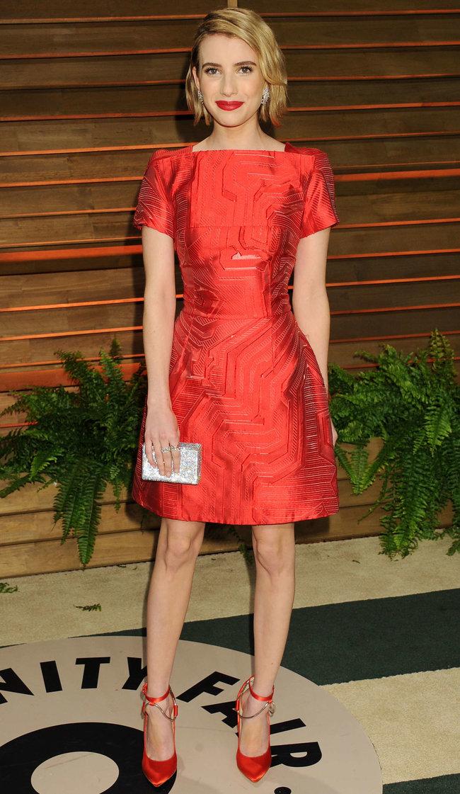 Эмма Робертс на званом вечере «Vanity Fair Party», Голливуд: emma-roberts-oscars-2014---vanity-fair-party--07_Starbeat.ru