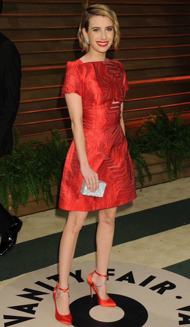 Эмма Робертс на званом вечере «Vanity Fair Party», Голливуд: emma-roberts-oscars-2014---vanity-fair-party--08_Starbeat.ru