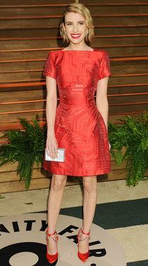 Эмма Робертс на званом вечере «Vanity Fair Party», Голливуд: emma-roberts-oscars-2014---vanity-fair-party--01_Starbeat.ru