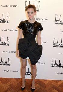 Эмма Уотсон посетила «Elle Style Awards 2014» в Лондоне: emma-watson-elle-2014-style-awards--01_Starbeat.ru