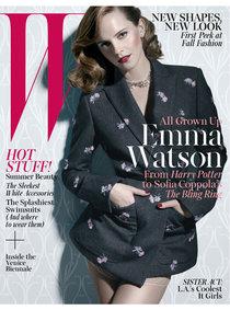 Эмма Уотсон в свежем выпуске «W magazine»: emma-watson-w-magazine-2013--03_Starbeat.ru