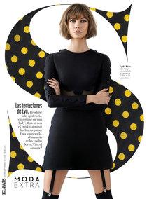 Карли Клосс снялась для сентябрьского номера журнала «S Moda»: karlie-s-1_Starbeat.ru
