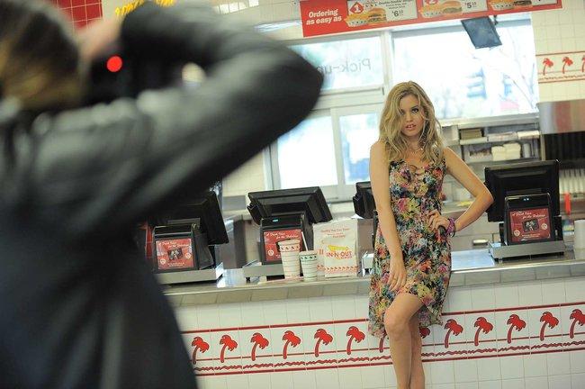 Джорджия Мэй Джаггер на съемках рекламной кампании «Material Girl»: georgia-may-jagger-material-girl-2013-campaign--06_Starbeat.ru