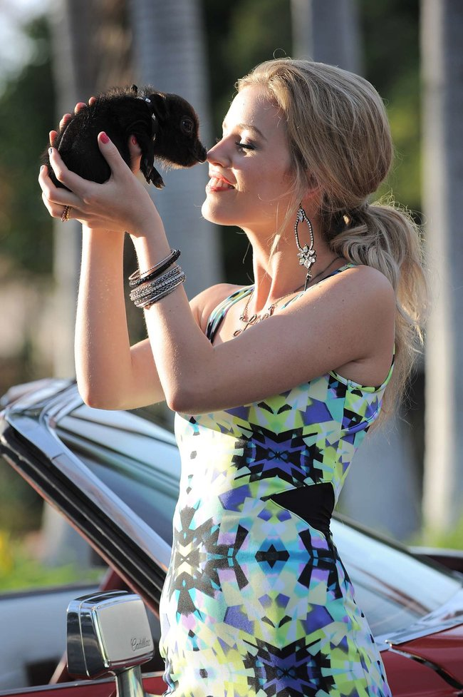 Джорджия Мэй Джаггер на съемках рекламной кампании «Material Girl»: georgia-may-jagger-material-girl-2013-campaign--11_Starbeat.ru