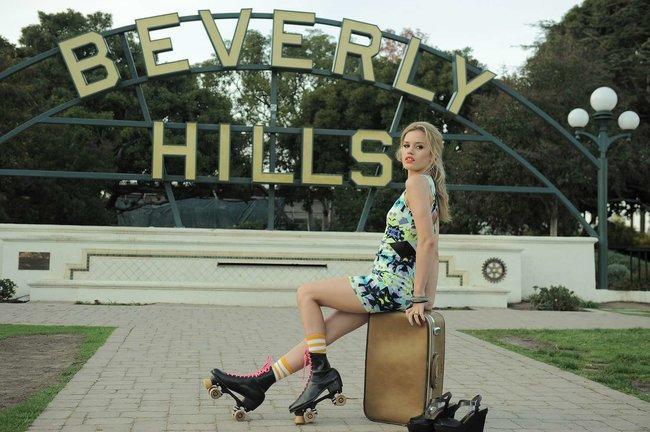 Джорджия Мэй Джаггер на съемках рекламной кампании «Material Girl»: georgia-may-jagger-material-girl-2013-campaign--13_Starbeat.ru