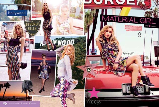 Джорджия Мэй Джаггер на съемках рекламной кампании «Material Girl»: georgia-may-jagger-material-girl-2013-campaign--14_Starbeat.ru