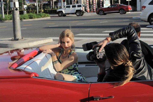Джорджия Мэй Джаггер на съемках рекламной кампании «Material Girl»: georgia-may-jagger-material-girl-2013-campaign--16_Starbeat.ru