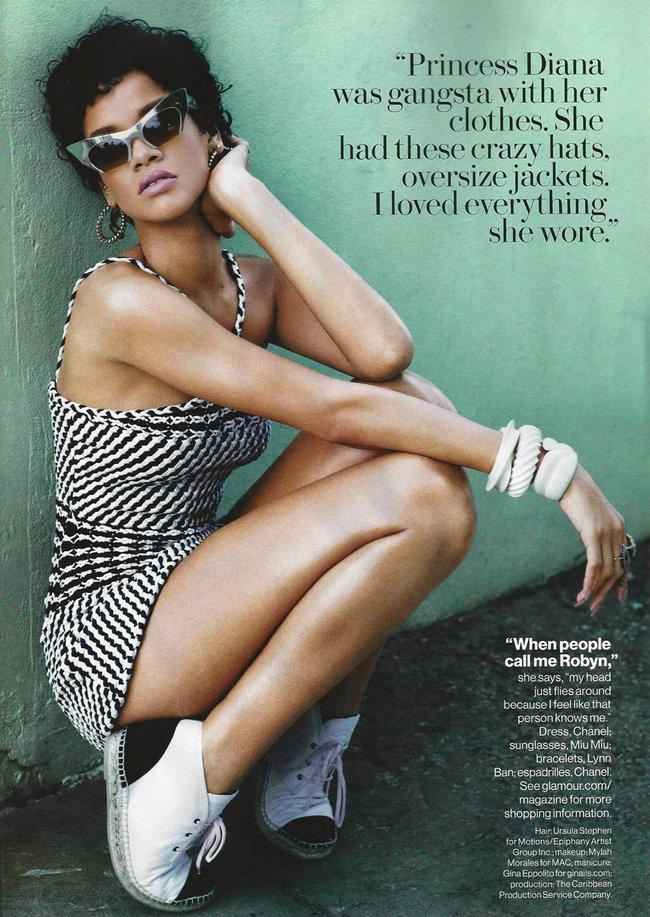 Ноябрьский выпуск журнала «Glamour US»: фотосессия Рианны: rihanna-glamour-7_Starbeat.ru