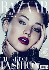 Фотосессия Дженнифер Лоуренс: ноябрьский выпуск «Harper's Bazaar»: jennifer-lawrence---harpers-bazaar-uk--04_Starbeat.ru