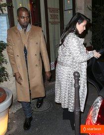 Звёзды в Париже: Ким Кардашьян и Канье Уэст: kim-kardashian-pregnant-paris-getaway-with-kanye-west-01_Starbeat.ru