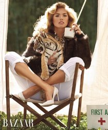 Фотосессия Кейт Аптон для «Harper's Bazaar»: «The Animal Nursery»: kate-upton-1_Starbeat.ru