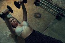 Кейт Аптон жмёт от груди, а у фотографа Нормана Джина Роя хватило сил только на две фотки, эх Норман!: kate-upton-1_Starbeat.ru