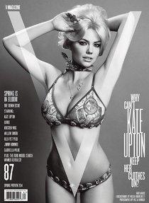 Кейт Аптон в журнале «V» (весенний номер 2014): kate-upton-12_Starbeat.ru
