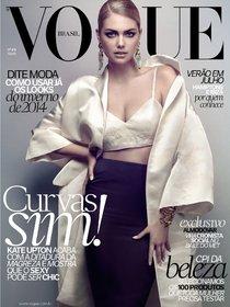 Кейт Аптон украсила обложку июльского номера издания «Vogue Brazil» : kate-upton-114_Starbeat.ru