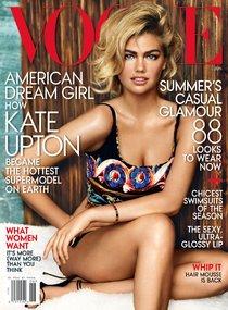 Июньский номер «Vogue» с Кейт Аптон, фотограф: Марио Тестино: kate-upton-12_Starbeat.ru