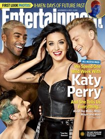Кэти Перри стала героиней ноябрьского выпуска «Entertainment Weekly»: katy-perry-entertainment-weekly-2013--03_Starbeat.ru