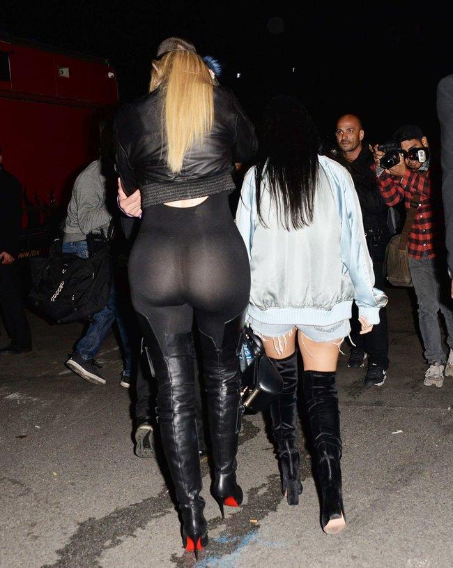 Хлои Кардашьян и чёрные лосины в Пасадене: khloe-kardashian-10_Starbeat.ru
