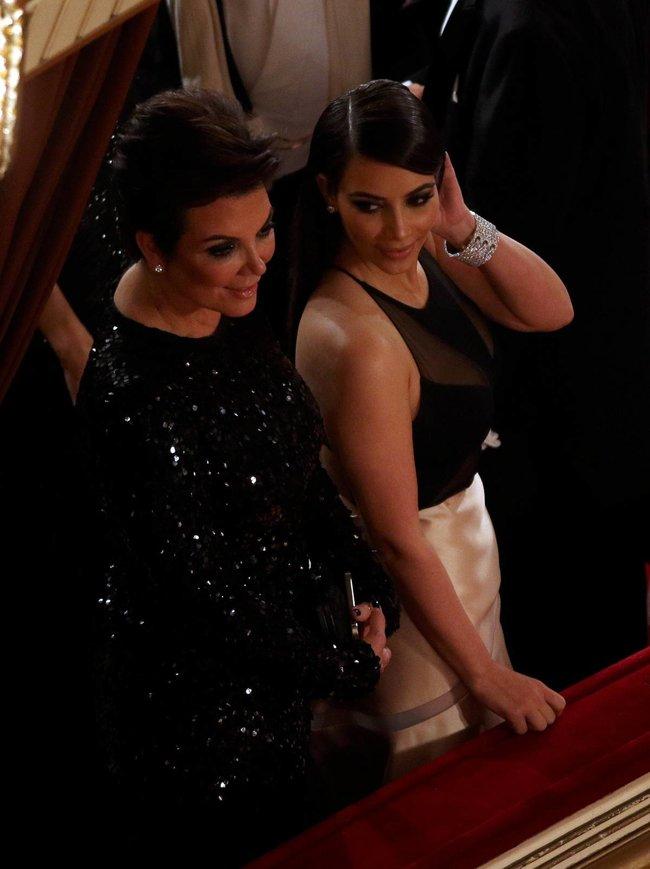 Ким Кардашьян на «58 Wiener Opernball» в Вене: kim-kardashian-13_Starbeat.ru