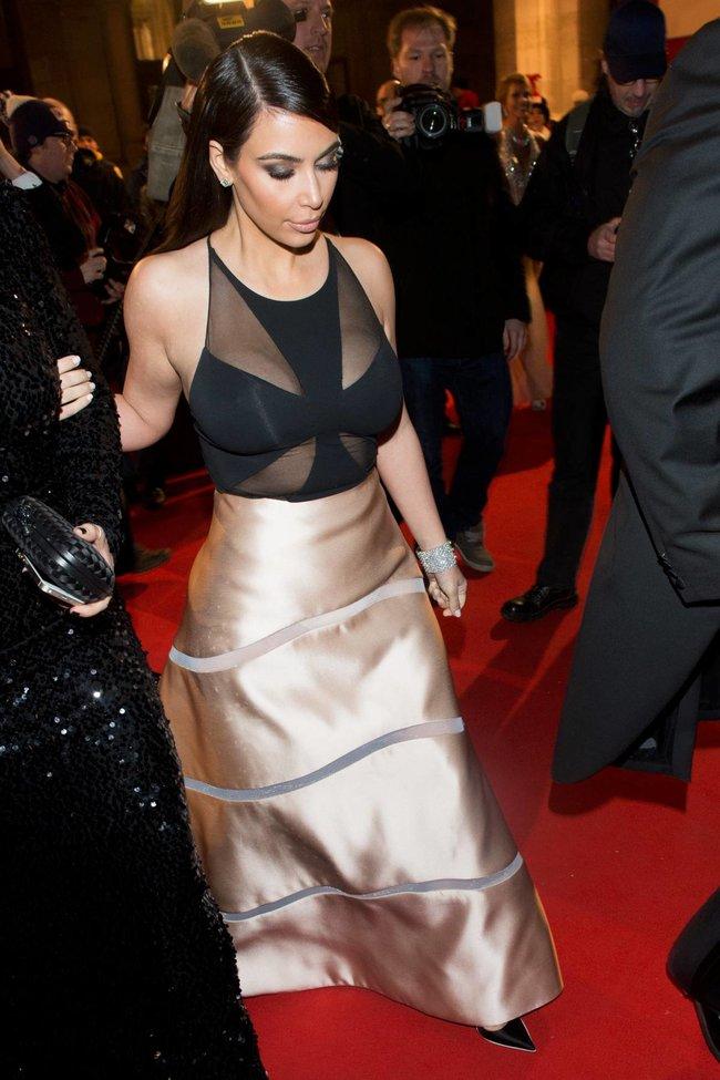 Ким Кардашьян на «58 Wiener Opernball» в Вене: kim-kardashian-1_Starbeat.ru