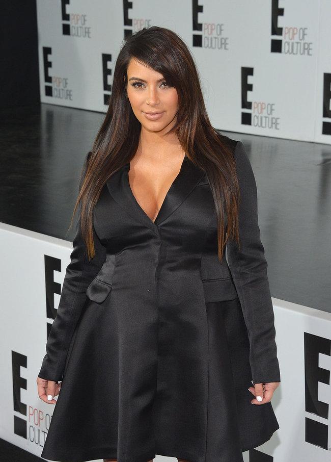 Вечеринка «E! 2013»: беременная Ким Кардашьян: kim-kardashian---e-2013-upfront--03_Starbeat.ru