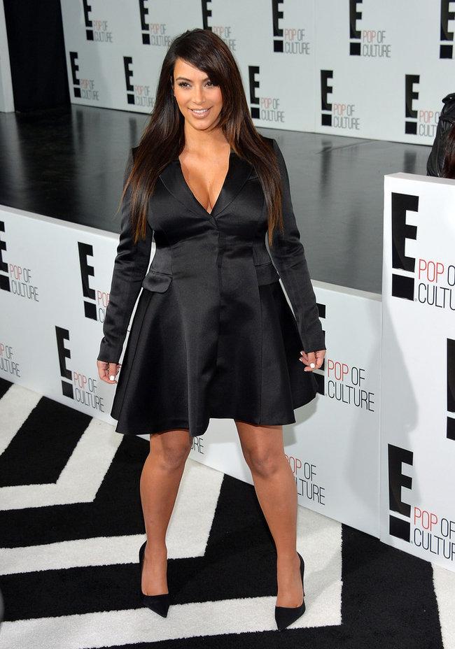 Вечеринка «E! 2013»: беременная Ким Кардашьян: kim-kardashian---e-2013-upfront--06_Starbeat.ru