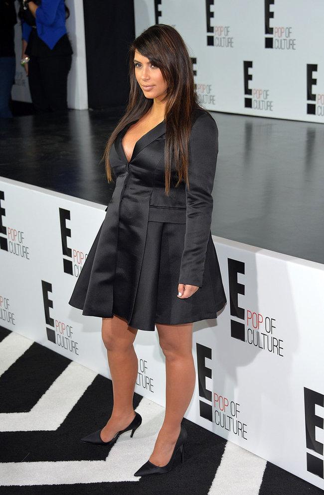 Вечеринка «E! 2013»: беременная Ким Кардашьян: kim-kardashian---e-2013-upfront--08_Starbeat.ru