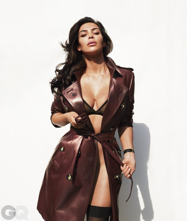 И снова здравствуйте: Ким Кардашан для «GQ Magazine Naked Photoshoot» (июнь 2016): kim-kardashian-5-3_Starbeat.ru
